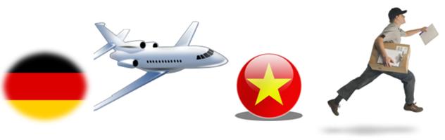 Vận chuyển hàng hóa và mua hộ từ Schweinfurt, Đức về Việt Nam giá rẻ