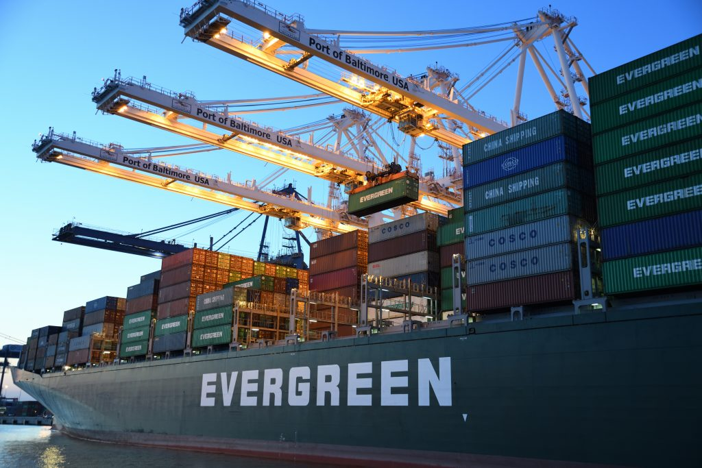 Vận chuyển hàng hóa đường biển, gom hàng lẻ đi Frankfurt